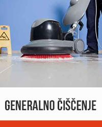 GENERALNO čiščenje vedro čistilni servis